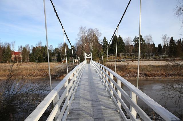 吊り橋の画像