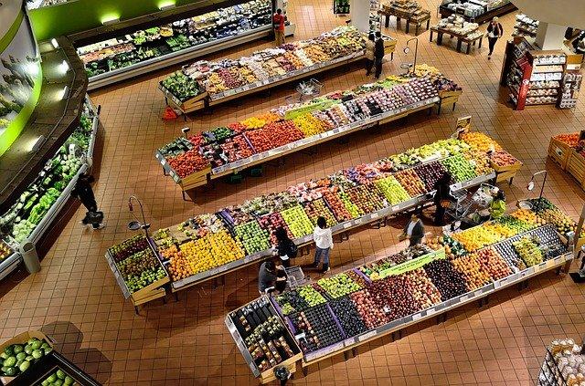 スーパーの画像